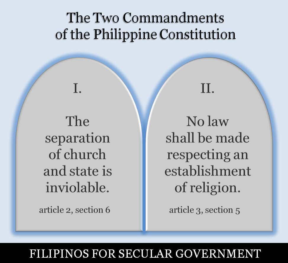 Two Commandments of the Constitution