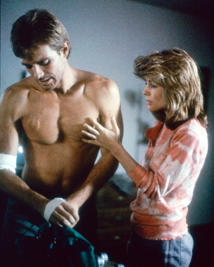 kyle reese & sarah connor, The Terminator (1984)