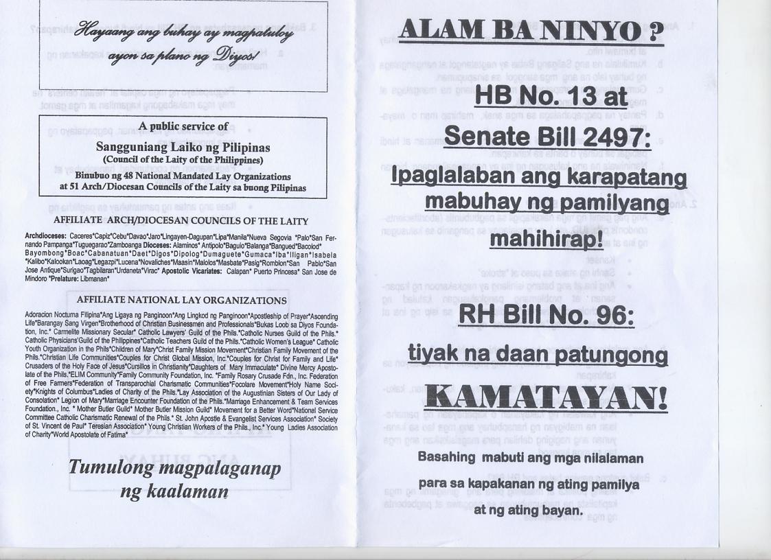 Sekularismo tagalog