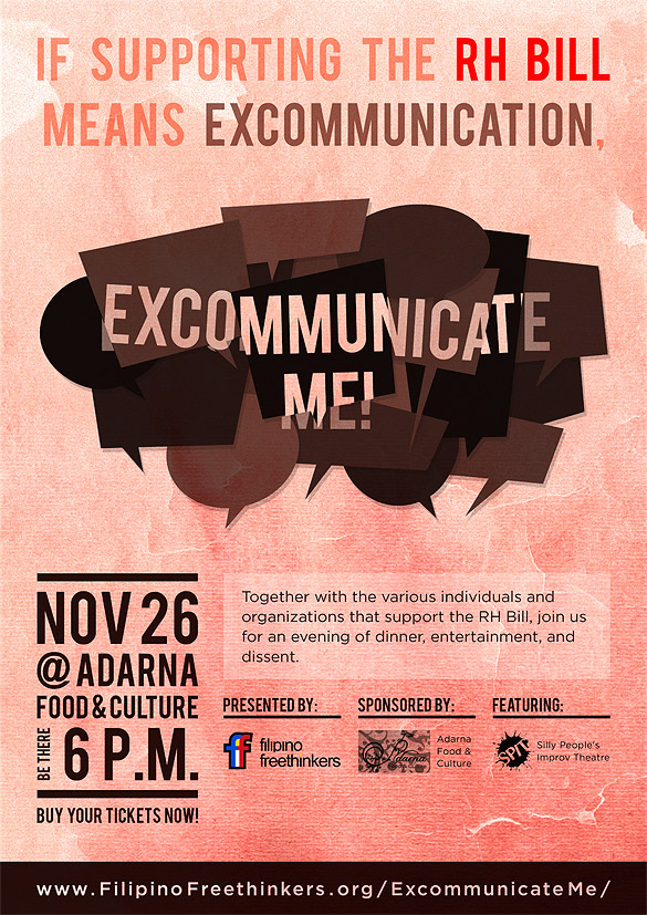 Excommunicate Me! Poster