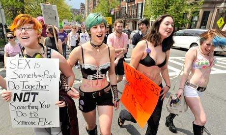 "SlutWalk - ""Why I will not walk like a slut"" by Marguerite de Leon"