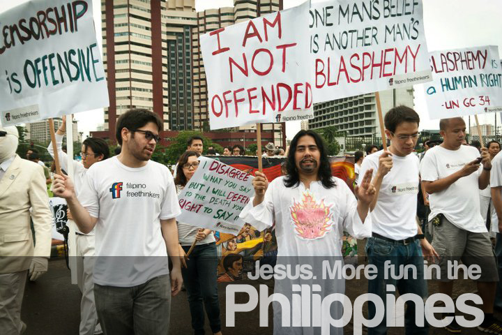 Jesus. More fun in the Philippines