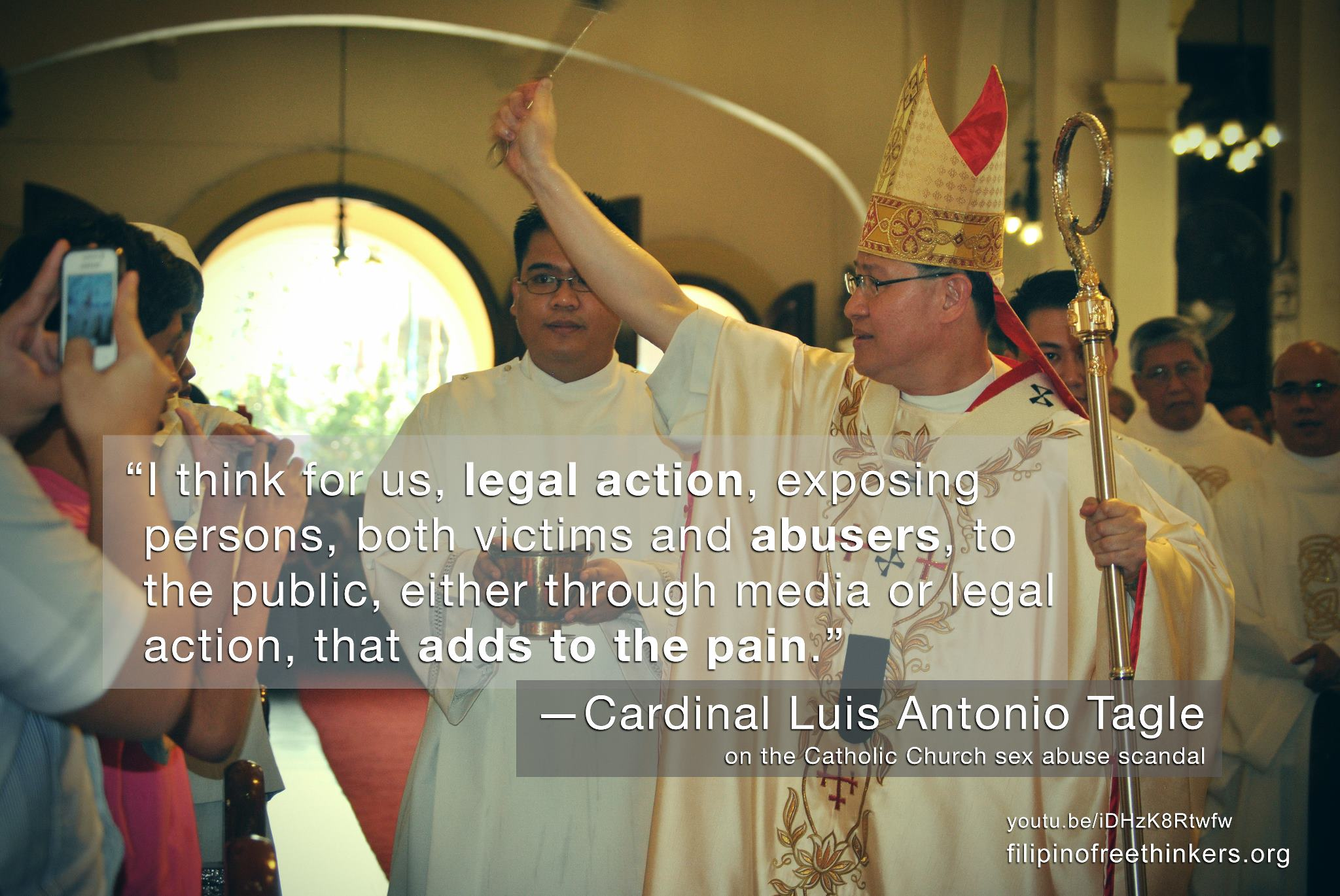 Luis tagle homosexuality in christianity