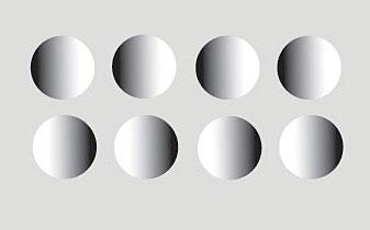 Shaded circles 3
